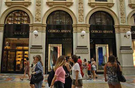 best shops in milan top 5 shopping streets in milan global blue