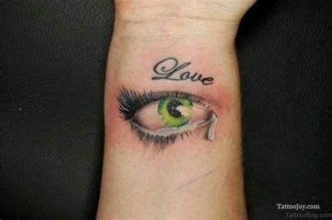 tattoo eye bags 41 best eye tattoos for wrist