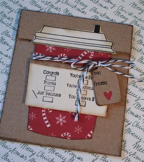 Coffee Gift Cards - so cute coffee gift card holder great idea pinterest