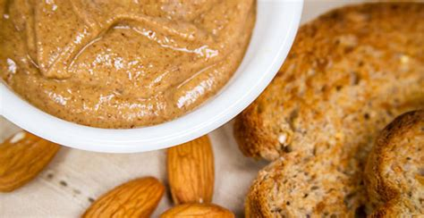 carbohydrates in 6 almonds almond butter