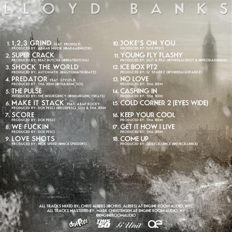 lloyd banks song list mixtape lloyd banks cold corner 2 hiphop n more