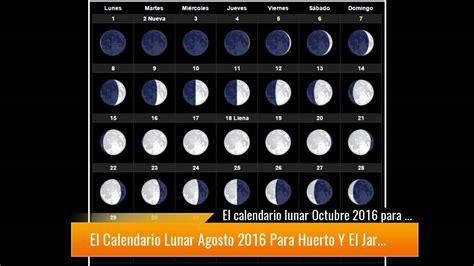 Calendario De Creciente Descubre El Calendario Lunar Diciembre 2017