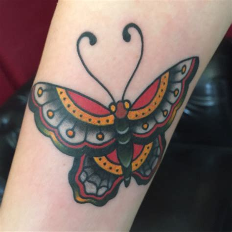traditional butterfly tattoo traditional butterfly