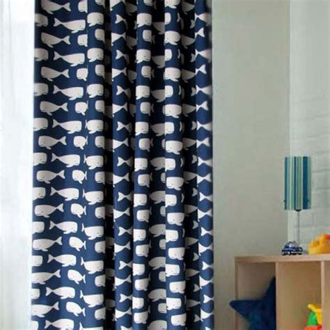 blue and white blackout curtains astonishing ideas for kids curtains