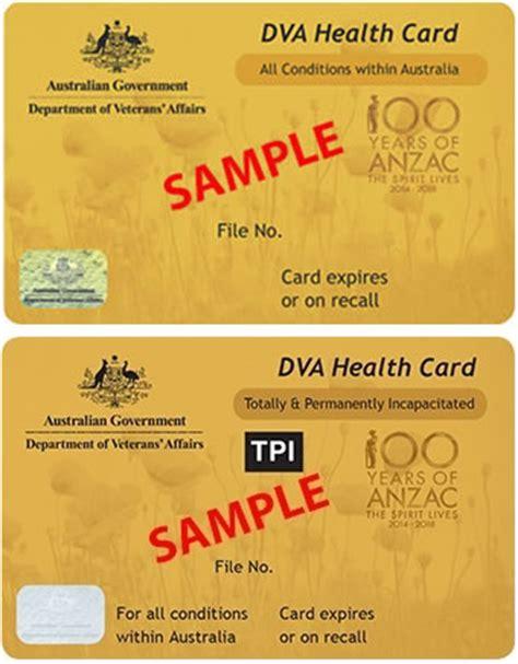 dva health cards department of veterans affairs