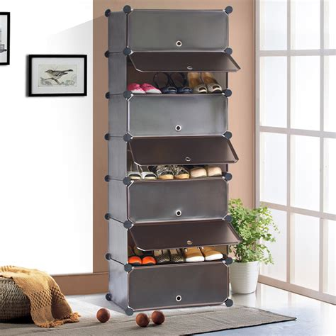 Simple Diy Shoe Rack Storage The Door For Small And Narrow Closet Spaces Ideas Fedex Free Shipping 7 Simple Diy 40s The Belt Door Simple Shoe Storage Locker Shoe Cabinet
