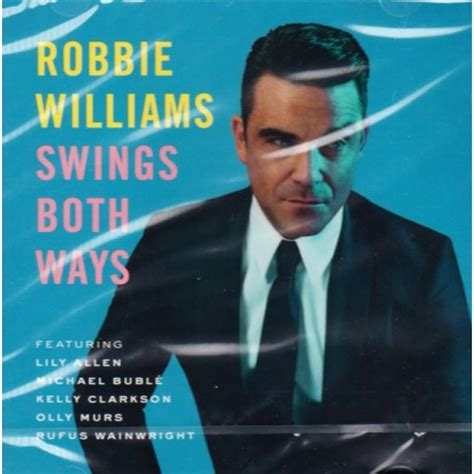 robbie williams swing williams robbie swings both ways 1 cd