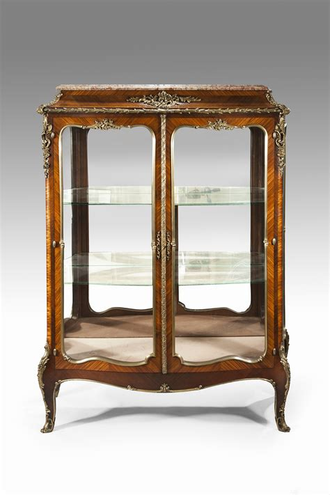 antique display cabinet wick antiques