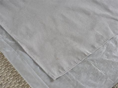 plastic drop cloth u0026 2 in 1 bottlepaint can canvas drop cloth the easiest curtains youu0027ll
