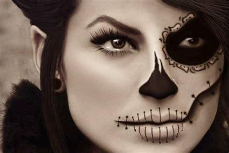 imagenes maquillaje halloween niños maquillaje de halloween para mujer paso a paso la t 233 cnica
