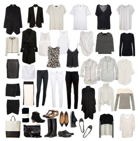 black and white capsule wardrobe 64 best images about wardrobe basics on pinterest black
