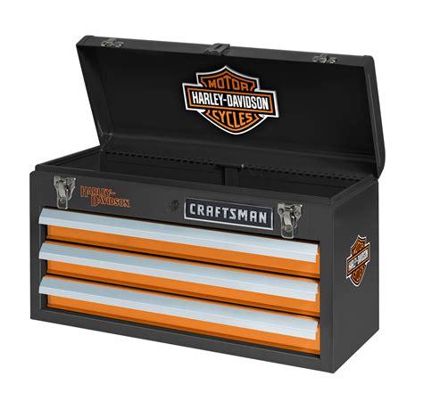 Harley Davidson Toolbox craftsman harley davidson 174 3 drawer portable tool chest