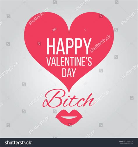 happy valentines day card joke stock illustration