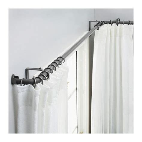 curtain rod for corner window 17 best ideas about corner window curtains on pinterest