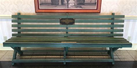 walt disney bench walt disney archives disdom