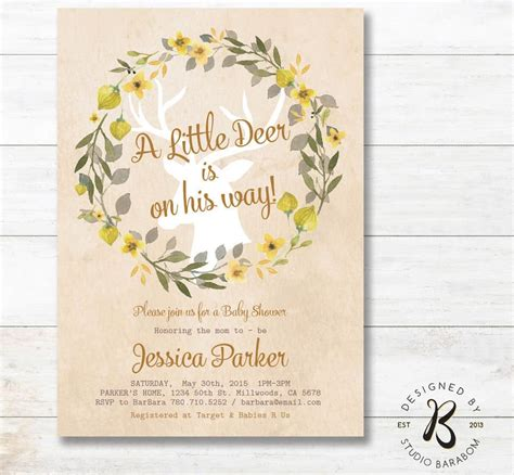 Rustic Themed Baby Shower Invitations by 25 Rustic Baby Shower Ideas Rustic Should Be Gorgeous
