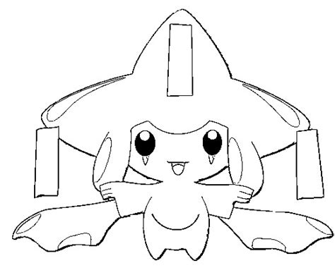 pokemon coloring pages jirachi pin pokemon jirachi colouring pages on pinterest