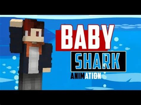 baby shark old version baby shark minecraft version animation goblok dah v