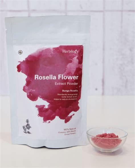 herbilogy rosella flower extract powder 100gr