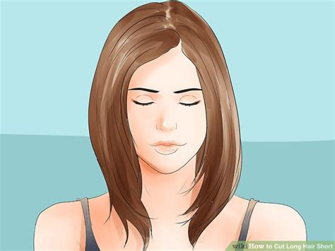 hairstyles for straight hair wikihow 3 ways to thin hair wikihow hairstyles for long hair