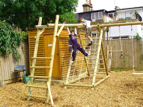 backyard gym ideas 67 best climbing frames etc images on pinterest