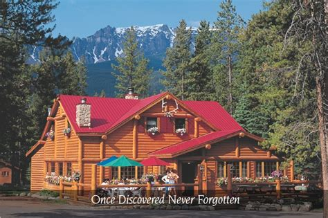 baker creek chalets  cabins  lake louise banff national park alberta canada places