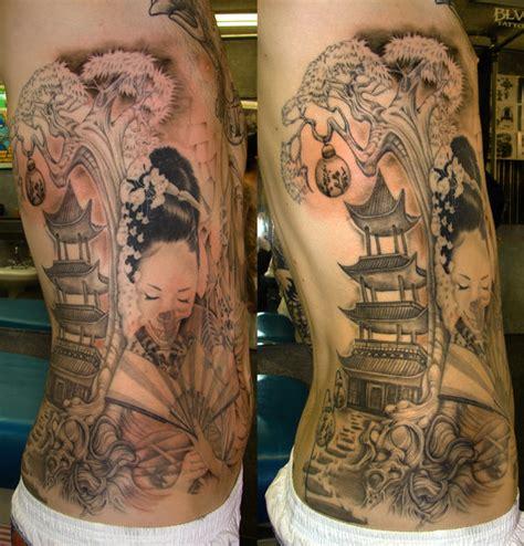 geisha house tattoo geisha girl add on by asussman on deviantart