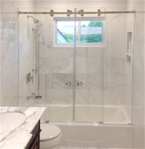 Barn Door Shower Door Expert Advice On Glass Shower Doors Mirrors And Window Repair Replacement
