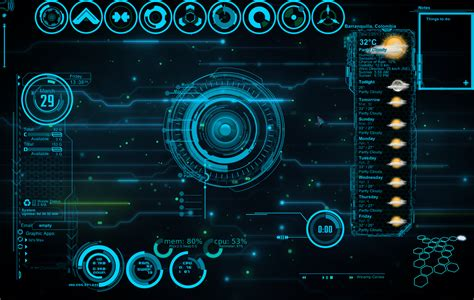 electrical themes for windows 10 jarvis 3 0 rainmeter by sniperkillerut on deviantart