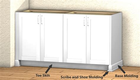 What Is Scribe Molding For Kitchen Cabinets by Scribe Base Cabinet Cabinets Matttroy