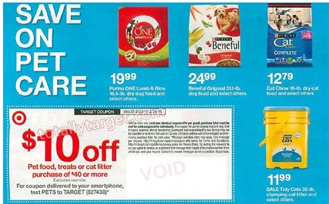 dog food coupons january 2015 upcoming 10 off 40 pet purchase in ad target coupon