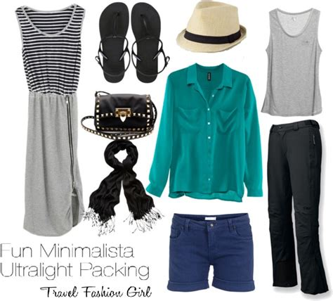 Stylish Travel Wardrobe by Minimalist Packing With Style