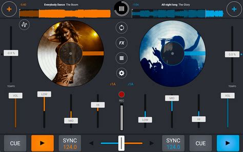 Tablet Croos Android mixvibes cross hits the big three oh version 3 0 for ios