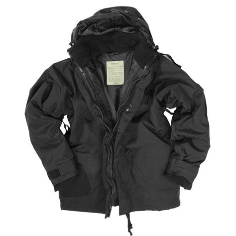 Jaket Parka Army Layer mil tec ecwcs jacket with fleece black ecwcs 1st