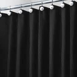 Black Bathroom Shower Curtains » Home Design 2017