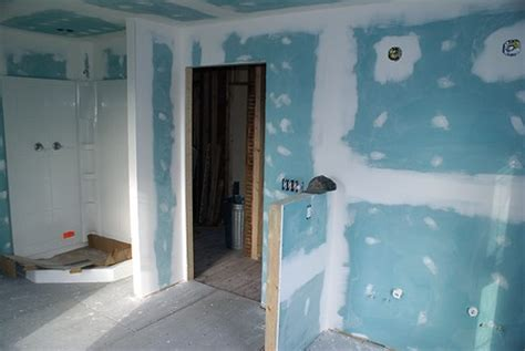 what kind of sheetrock to use in bathroom how to install drywall in your bathroom