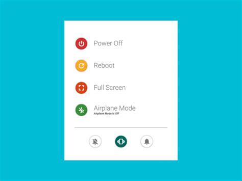 material design menu github github naman14 materialpowermenu a demo of the power
