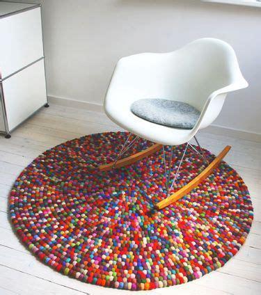 teppich aus filzkugeln 220 ber 1 000 ideen zu diy teppiche auf
