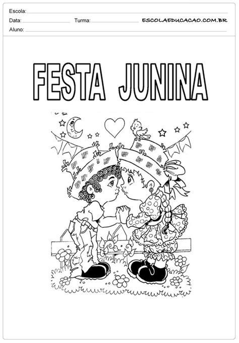 Atividades para Festa Junina para o 1º ano prontas para
