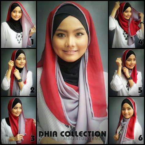 tutorial hijab menurut al quran 187 best hijab tutorial images on pinterest hijab styles
