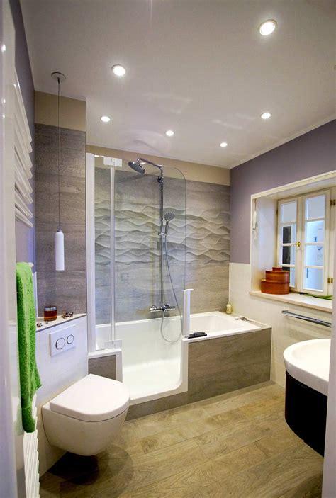 badewanne mit dusche die loesung fuer kleine baeder