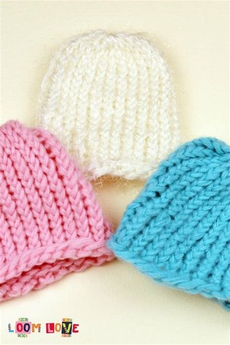 loom knit baby hat 61 best images about rainbow loom hats on