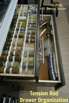 small tension rods for cabinets 1000 images about kitchen organization on