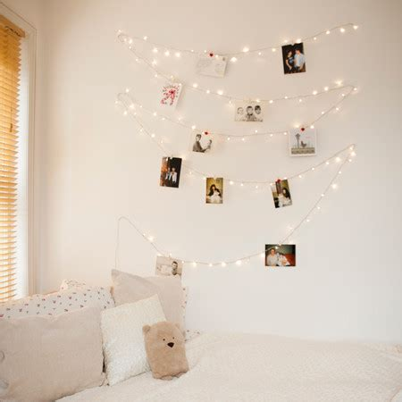 100 Warm White Led Fairy Lights On Clear Cable White Lights In Bedroom