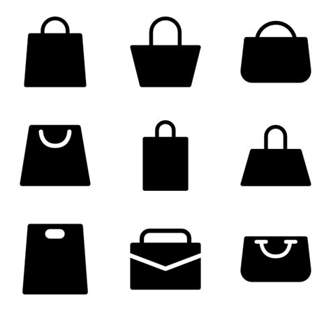 bags logo png shopping bag icons 1 590 free vector icons