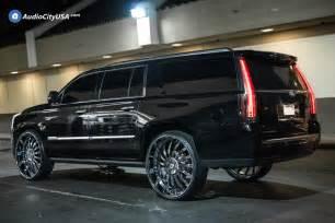 Rims For A Cadillac Escalade 2016 Cadillac Escalade 30 Quot Asanti Wheels Af815 Chrome