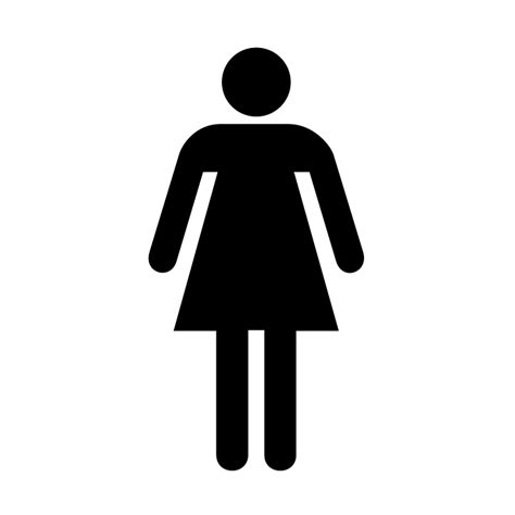woman bathroom symbol free vector graphic restroom bathroom sign ladies