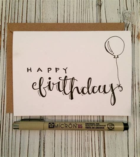 Best Handmade Fonts - 25 best ideas about happy birthday calligraphy on