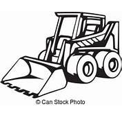 Construction Bulldozer Vector Clipart EPS Images 3370