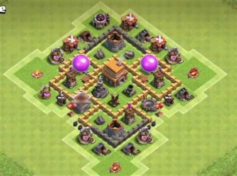 layout coc anti giant 7 best town hall th5 trophy bases anti giants 2018 new